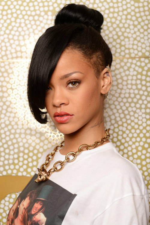 Inspiration: Rihanna Beauty american african  Girls Fab Prom The  natural  makeup